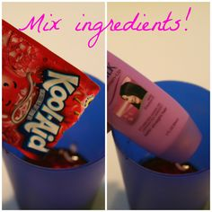 How to dye hair with kool aid great for last minute halloween e l l e s e e s beauty diy how to dye hair with kool aid solutioingenieria Gallery