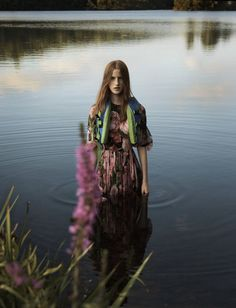 "athingcalledbliss:  "" Magdalena Jasek by Jan Welters for ""Free To Roam"" Elle UK January 2017  """