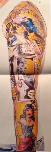 awesome comic sleeve