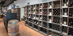 Ladenbau Schweiz - Ladenumbau Zürich - Zweifel Vinarium (Wein Shop, Wine Shop, Vinothek)