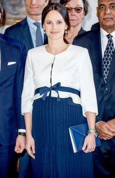 La princesse Sofia, jolie future maman