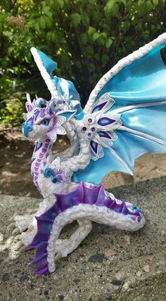 Custom Dragon Sculpture Made to Order by MakoslaCreations on Etsy