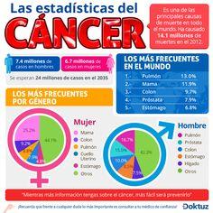 Las estadísticas del cáncer. https://doktuz.com/wikidoks/prevencion/estadisticas-del-cancer.html