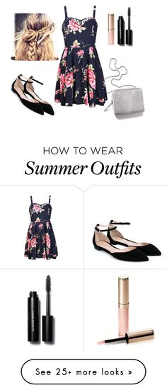 """""""casual outfit"""" by abbygirly on Polyvore featuring Gianvito Rossi, 3.1 Phillip Lim, Ally Fashion, By Terry and Bobbi Brown Cosmetics"""