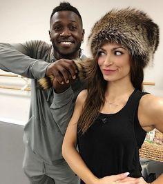 Antonio and Karina will be dancing the Cha Cha for Switch Up Week! #DWTS #DWTS22 #AntonioBrown #KarinaSmirnoff