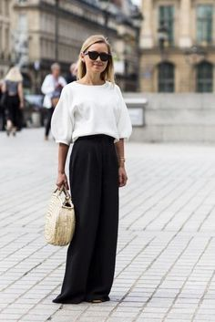 28 casual street style looks from haute couture week that you can actually wear in real life: