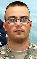 Army Sgt. Eric W. Slebodnik  Died September 28, 2005 Serving During Operation Iraqi Freedom  21, of Greenfield Township, Pa.; assigned to the Army National Guard's 1st Battalion, 109th Infantry Regiment, 28th Infantry Division, New Milford, Pa.; killed Sept. 28 when his M2A2 Bradley Fighting Vehicle was attacked by enemy forces using indirect fire in Ramadi, Iraq.
