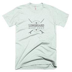 Long Board Surf Shop Short Sleeve Unisex T-Shirt