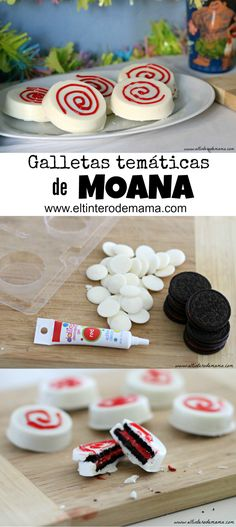 Echa un vistazo a este #tutorial y descubre como hacer estas deliciosas galletas temáticas de Moana: http://wp.me/p54459-31O #MOANA