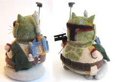 fat cat crafts, Boba Fett