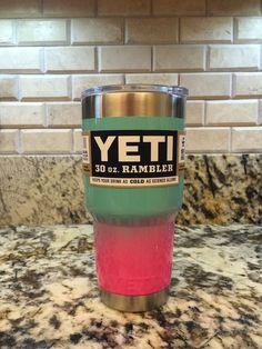 Mixed Glitter YETI Rambler Tumbler (30oz) Custom