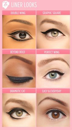 Our partners @Benefit really know how to create flawless fall liner looks! Which look would you wear?