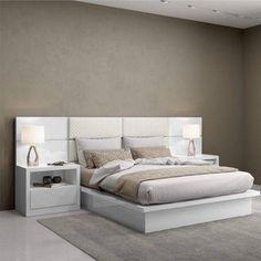 Room Design Bedroom, Home Room Design, Bedroom Furniture Design, Modern Bedroom Design, Bed Furniture, Bedroom Sets, Home Bedroom, Bedroom Decor, Japanese Bed