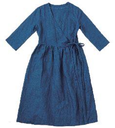 Wraparound dress.