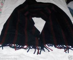 Vtg 100% Lambs Wool Plaid Scarf by Black Watch Great Britain Red Green Blue on eBay!