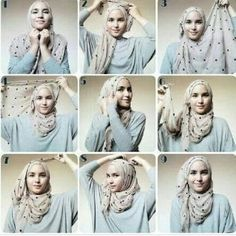 Dian Pelangi Tutorial Hijab collection
