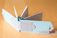 DSC_3779 Stampin Up Swap Incentive Trip Mini Album Book Tag Topper Punch Stanze Gewellter Anhänger _