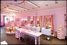 interior designs for beauty salons | Monaco Princesse - Poor Little Rich Girl ! | www.littlestarblog.com