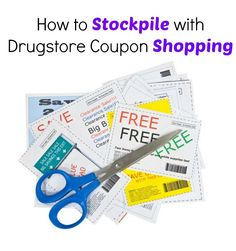 How to Stockpile with Drugstore Coupon Shopping