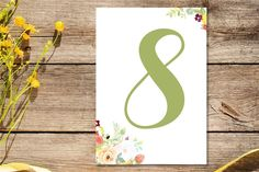 The most beautiful and unique wedding invitations, RSVP cards, and other wedding stationery available in Ireland, the UK and worldwide. Unique Wedding Invitations, Wedding Stationery, Wedding Table Numbers, Rsvp, Symbols, Floral, Cards, Flowers, Table Numbers