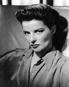 Inspirational people: Katharine Hepburn. Beautiful, spunky, brilliant actress. A great role model for women because I think she wasn't afraid to be herself and not conform to society's idea of what women should be like.