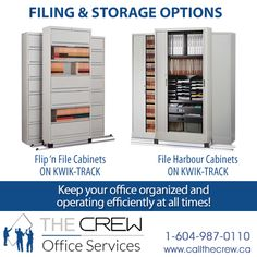 We offer a wide variety of storage options such as Bookcases, Shelves, Lateral Files and Cabinets to keep your office organized and efficiently operating at all times! For more information call Office Moving, Lateral File, Recycled Furniture, Office Organization, Bookcases, Office Furniture, Filing Cabinet, Locker Storage, Cabinets