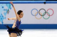 女子フリーで躍動感あふれる演技を見せる浅田真央=ロシア・ソチのアイスベルク・パレスで2014年2月20日 (620×398) http://sportsspecial.mainichi.jp/graph/2014sochi/figureLadies/001.html