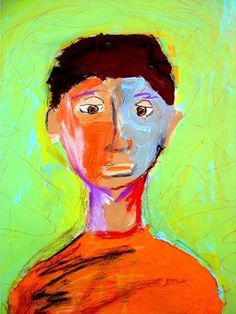 Matisse Inspired - 4th grade- Beautiful collection of Fauvist portraits!