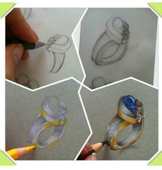 jewelry sketching.