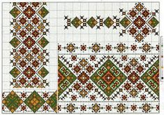 Cross stitching , Etamin and crafts: Traditional cross stitch Pattern Russian Cross Stitch, Cross Stitch Rose, Cross Stitch Borders, Cross Stitching, Cross Stitch Patterns, Folk Embroidery, Cross Stitch Embroidery, Embroidery Patterns, Palestinian Embroidery