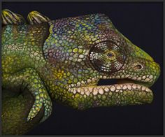 Guido Daniele: Hand Art.  That is a dude's hand painted. Incredible.