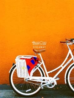 Pure City Cycles Giveaway! Win a custom-made bicycle! I want this!