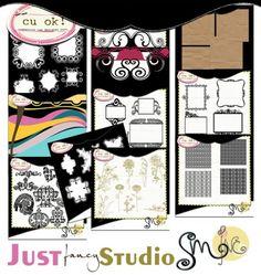 Just a Fancy Studio - $13.00 : Digital Scrapbooking Studio Digital Scrapbooking, Fancy, Studio, Study