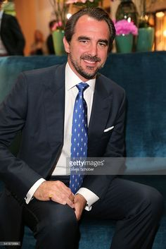 Prince Nikolaos of Greece during the presentation of the book 'Zu Gast in Griechenland. Rezepte, Kueche & Kultur' at 'The Charles' Hotel on June 20, 2016 in Munich, Germany. The event was hosted by the publishing house teNeues.