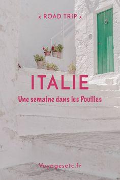 Que faire dans les Pouilles en une semaine ? de petits villages en mer turquoise, retour sur cette sublime semaine entre récit et conseils pratiques #pouilles #italie