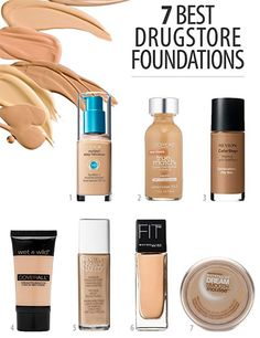 best-drugstore-foundations-guide
