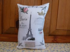 Paris Collage from Vintage Prints design 2 Small by Maisonvogue, $15.00