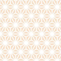 asanoha solid in pearl fabric by chantae on Spoonflower - custom fabric