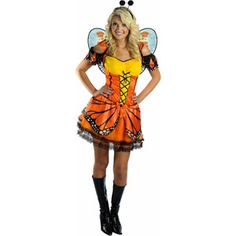 Fantasy Butterfly Adult Halloween Costume