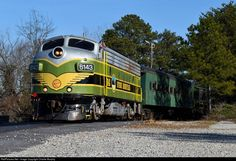 RailPictures.Net Photo: 6143 Stone Mountain Railroad EMD FP7 at Stone Mountain , Georgia by Charlie Murphy