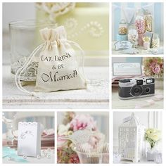Vintage Wedding Favours and Reception Details from A Wedding Less Ordinary