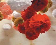 CUSTOM COLORS 20 tissue paper pompoms wholesale price wedding decorations gender reveal baby bridal shower bar mitzvah chair back aisle arch First Birthday Parties, First Birthdays, Tissue Paper Tassel, Brunch Decor, Bar Mitzvah, Garland, Bridal Shower, Wedding Decorations, Gender Reveal
