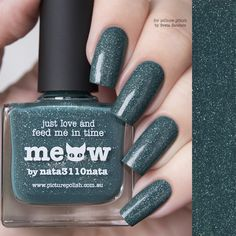 piCture pOlish : Picture Polish Meow Shop here- www.color4nails.com Worldwide shipping available