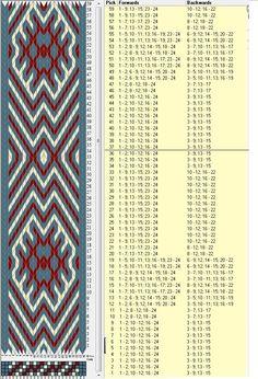 24 tarjetas, 3 colores, repite cada 36 movimientos // sed_441 diseñado en GTT༺❁