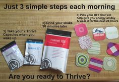 Would you say yes to 3 simple steps for your health and wellness? You're done within the first 20 minutes of your day! For Your Health, Health And Wellness, What Is Thrive, In A Funk, Thrive Le Vel, Thrive Life, Level Thrive, Thrive Experience, What Happened To Us