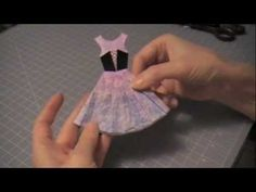 Paper Couture 3: Halloween Witch Paper Dress - YouTube