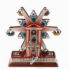 Juguete de Cuerda Noria Antigua   Regalos de Navidad