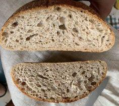 Nadýchaný celozrnný kváskovaný chlieb je najlepší od Naty Bread, Food, Basket, Eten, Bakeries, Meals, Breads, Diet