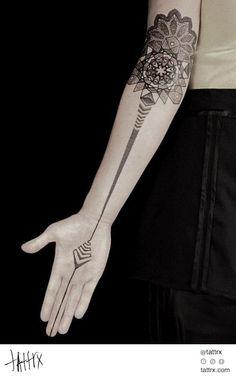 Kenji Alucky | Black Ink Power - mandala tattoo artist tattoos tattrx tatouages…