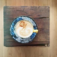 @simplyrosiephotography has her latte art perfected in my opinion!  Hardly a cup goes down without photographing her art first.